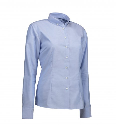 SS700 |  Button-Down-Bluse langarm