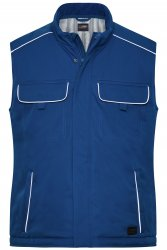JN 885  Workwear Softshell Padded Vest - SOLID -