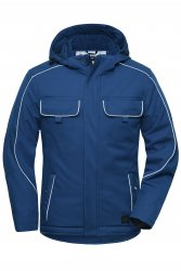 JN 886  Workwear Softshell Padded Jacket - SOLID -